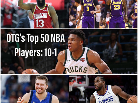 The Top 50 NBA Players 2019-2020 V.1: 10-1