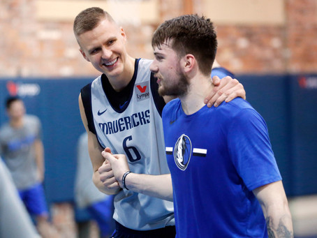 What Should We Expect From Luka Doncic and Kristaps Porzingis?