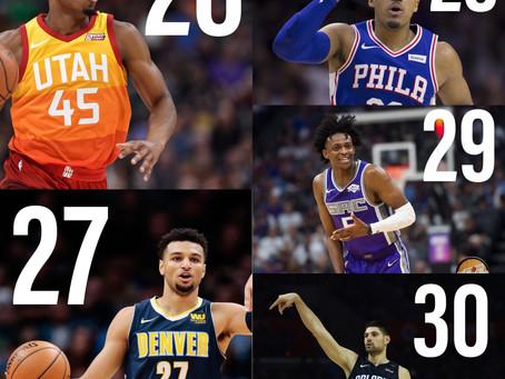The Top 50 NBA Players Entering the 2019-20 Season: 30-26