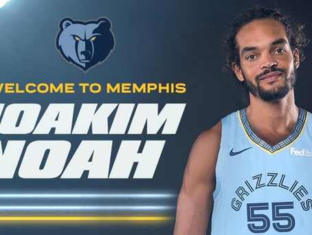The Addition Of Joakim Noah Gives Memphis the 'Dog' They Were Missing