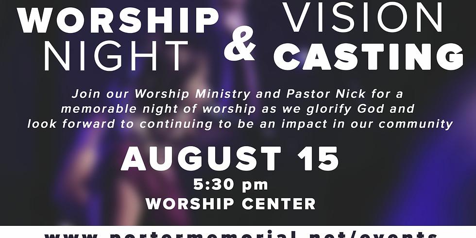 Worship Night & Vision Casting 2021