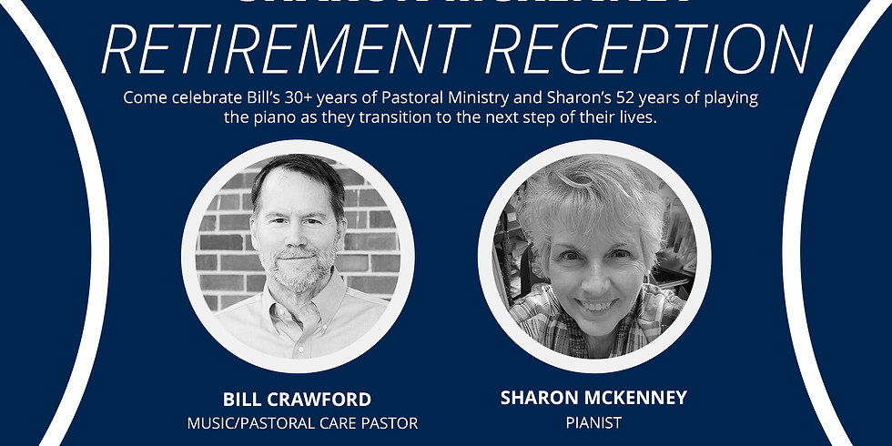 Bill Crawford and Sharon McKenney Retirement Reception