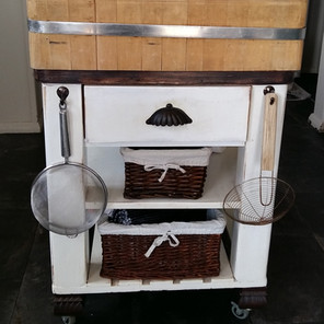 Up-cycled Butcher Block