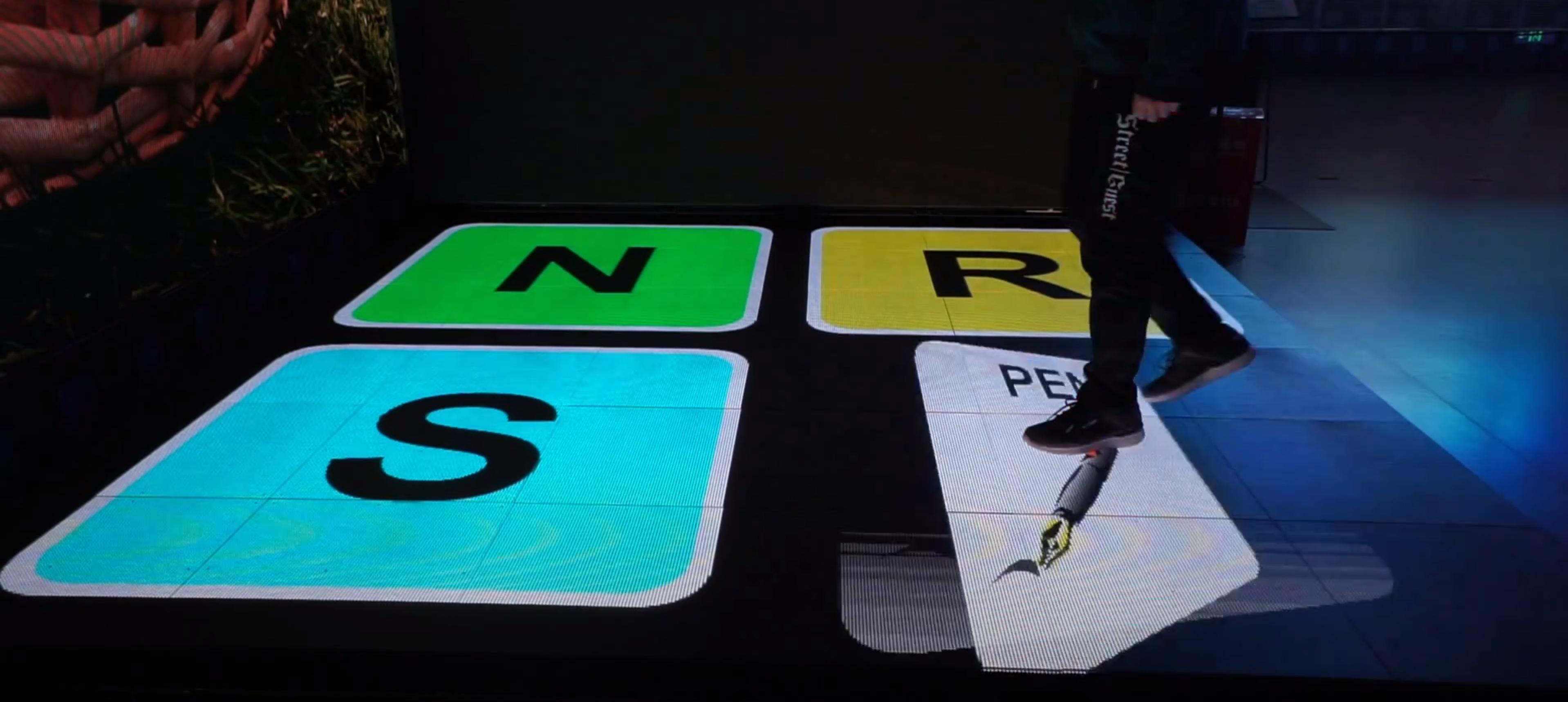 Interactive LED Floor 3