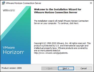 VMware Horizon 8 2006