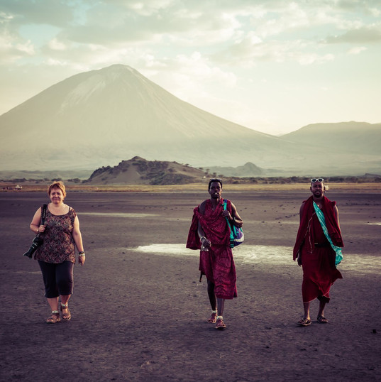 Trek Lake Natron Masai, Visit Native Massai