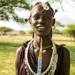 Massai Giraffe Eco Lodge, Lake Natron, Tanzania, Masai visit, Massai Tribes