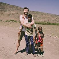 14905929720008Famille maasai rencontre, eco tourisme, Lac Natron, Tanzanie