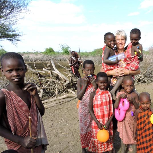 Masai Village, Lake Natron, north Tanzania, Maasai GIraffe Eco Lodge