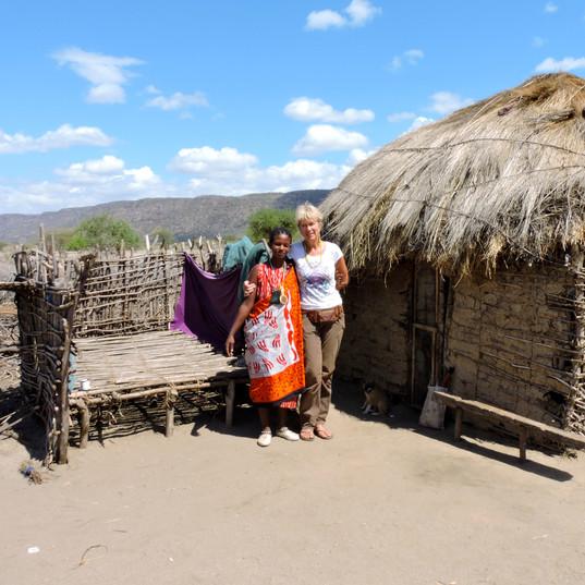 Masai village, visit native maasai, Maasai Giraffe Eco Lodge, Lake Natron