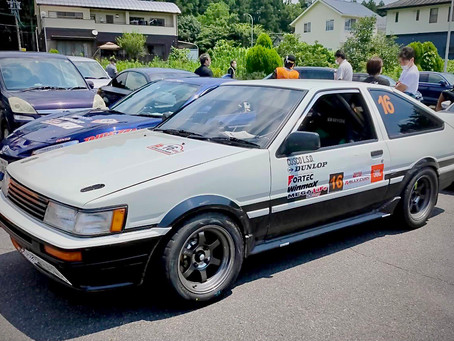 速報!AE86 ラリーチャレンジ、3位表彰台!