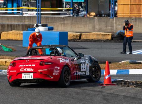 全日本ジムカーナ選手権 第2戦 名阪!斎藤選手、2位表彰台獲得!