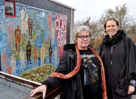 The London Clay Art Centre's new 900-square-foot mosaic required a true community effort