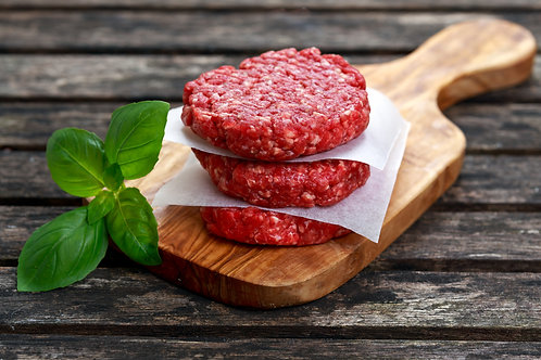 10 lbs. 100% AGA Certified Grassfed Texas Red Angus 1/3 lb. Ground Beef Patties!
