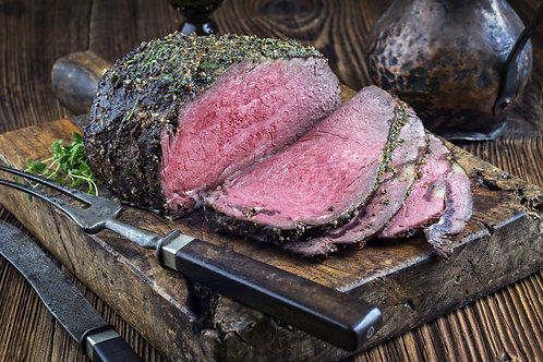 100 % Grassfed Red Angus Rump Roast. Available in some beef Bundles