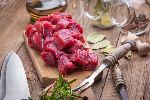 100% Grassfed Texas Red Angus Beef/ Stew Meat