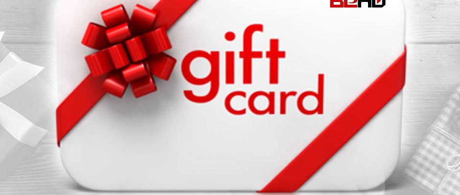 BeHD Gift Card