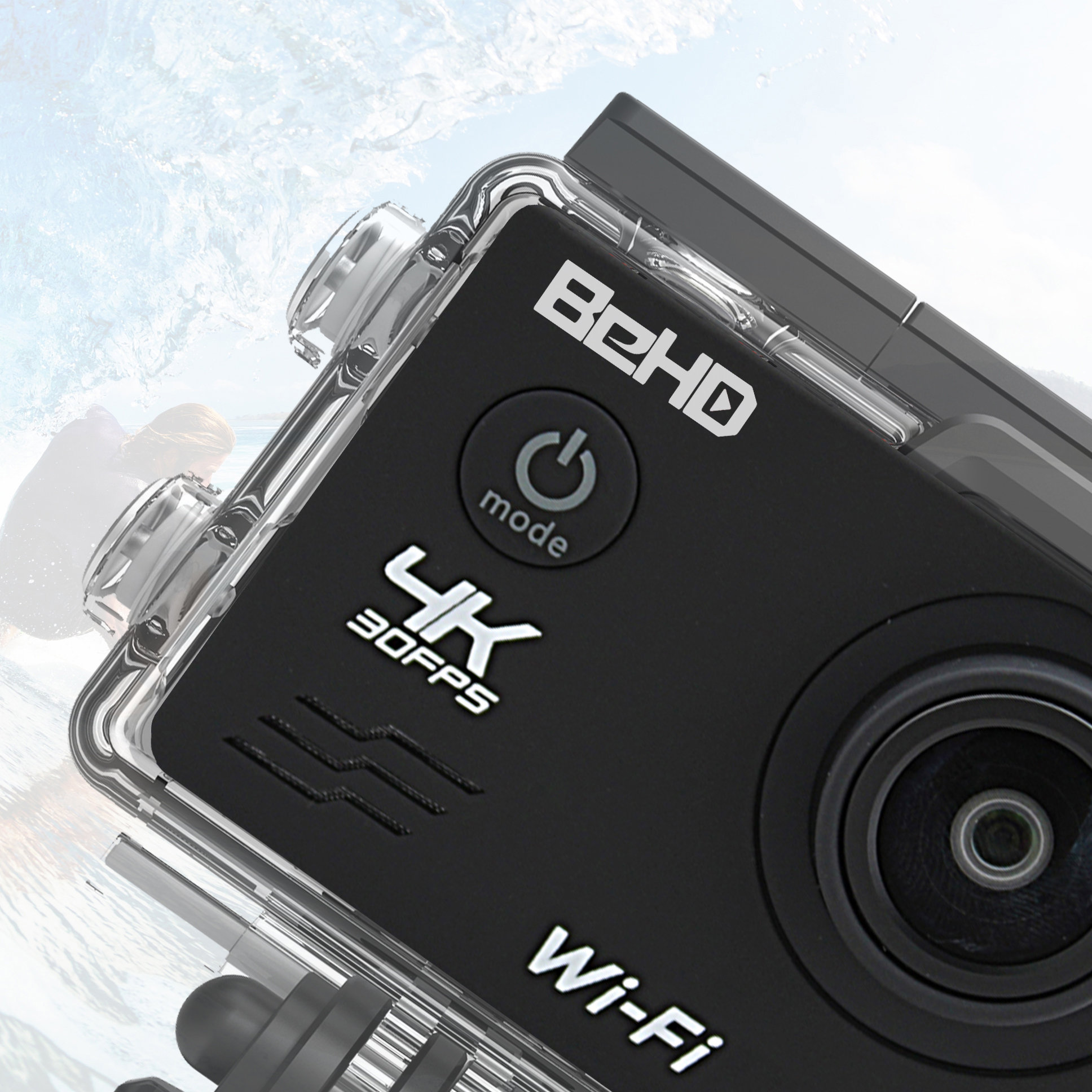 BeHD Virtue Kit (WiFi) | BeHD Camera