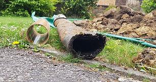 Damaged drains