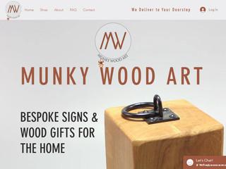 Munky Wood Art