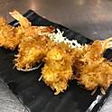 Coconut Shrimp with Mango Sauce 香芒椰子蝦 (4)