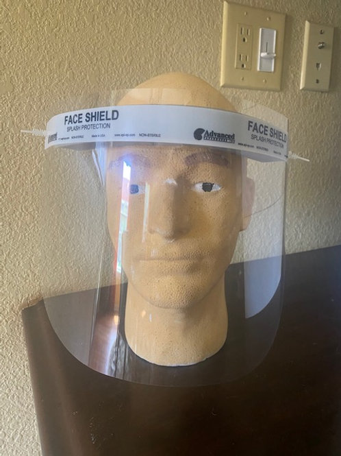 FACE SHIELD:  51 - 100 QTY