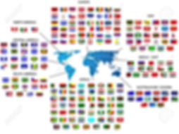 flags-of-all-countries-in-by-the-region-