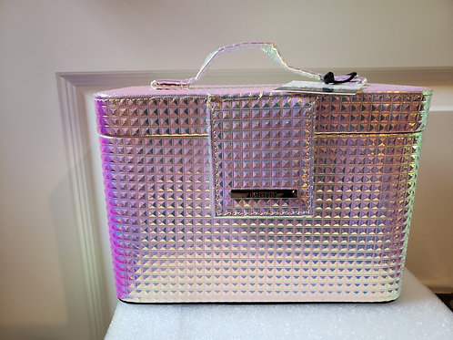 Personal Iridescent-Colored Small Hndbag-Travel Case