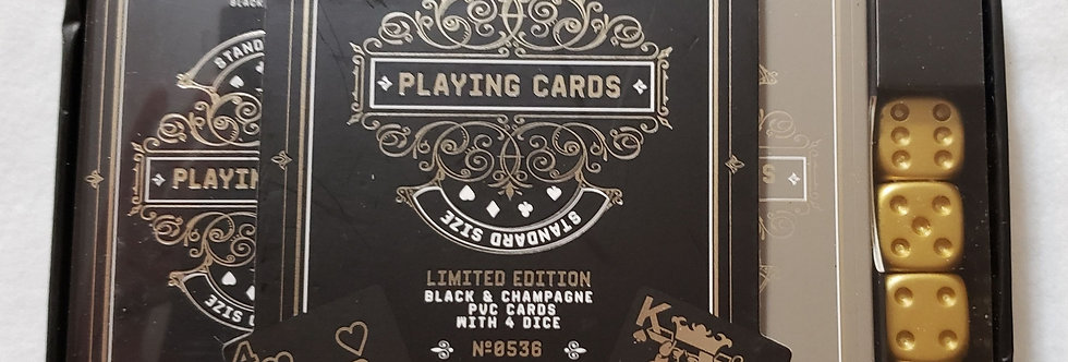 Unique Casino Playing Table Cards Set for Men