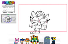"""Special Pose from """"Unikitty!"""""""