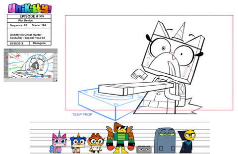 """Special Pose for """"Unikitty!"""""""