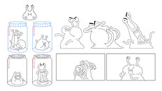 """Special Poses from """"The Fungies!"""""""
