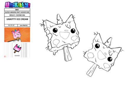 """Prop Design for """"Unikitty!"""""""