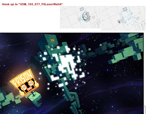 """Color Design for """"Invader Zim: Enter the Florpus"""""""
