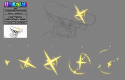 """EFX and Color Design for """"Unikitty!"""""""