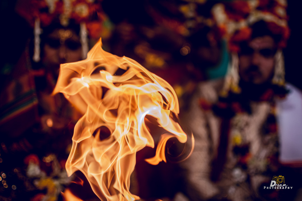Fire Click in Wedding