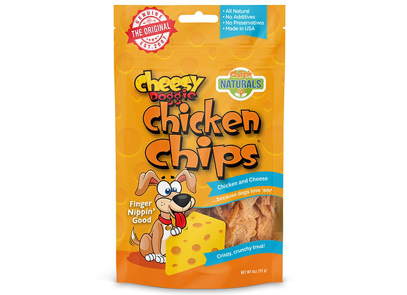 Doggie Cheesy Chicken Chips