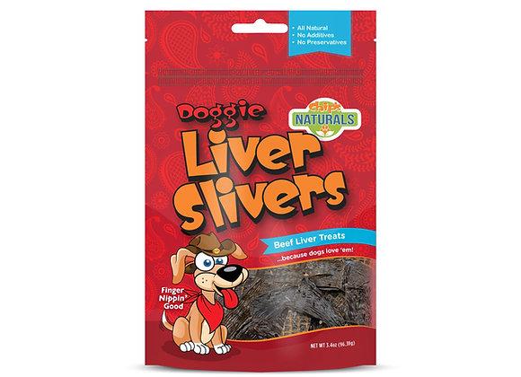 Chip's Naturals Doggie Liver Slivers