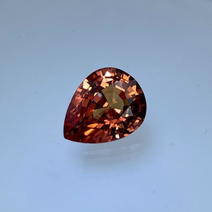Fancy Orange Sapphire