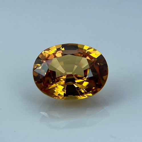 TREATED FANCY GOLDEN SAPPHIRE