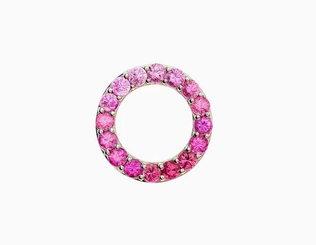 PP048L - 14KW DIAMOND CUT PINK FADE