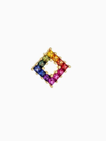 PP049 - 14KY PRINCESS CUT RAINBOW
