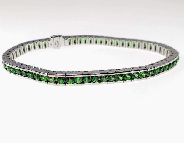 CB001 - 14KW DIAMOND CUT TSAVORITE