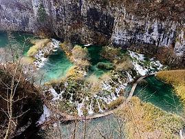 Plitvice lakes from Rijeka