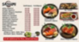 Hotaru Japanese Restaurant / Sushi Menu / Sashimi