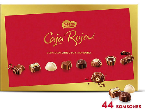 Bombones Nestlé Caja Roja