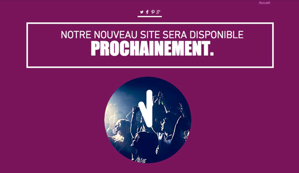 En Construction website templates – Compte à Rebours en Construction