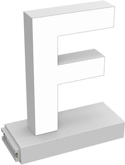 "MAGLED ""F"" TABLE-TOP LED Signage with Adjustable 6500K CCT 6500K Brightness"