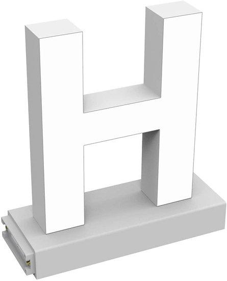 "MAGLED ""H"" TABLE-TOP LED Signage with Adjustable 6500K CCT 6500K Brightness"