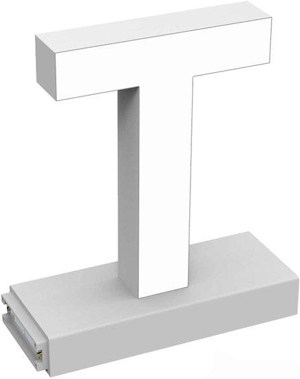 "MAGLED ""T"" TABLE-TOP LED Signage with Adjustable 6500K CCT 6500K Brightness"